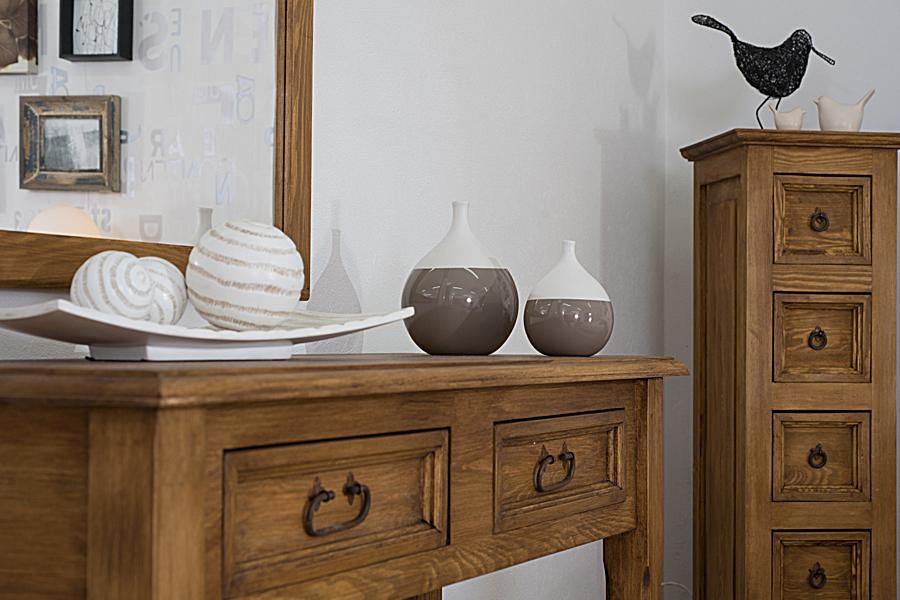 Toaletka drewniana