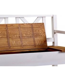 woskowana ławka