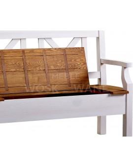 ławko drewniana woskowana