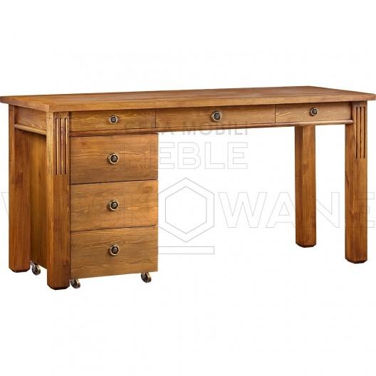 Nowoczesne biurko drewniane