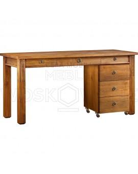 Nowoczesne biurko z drewna